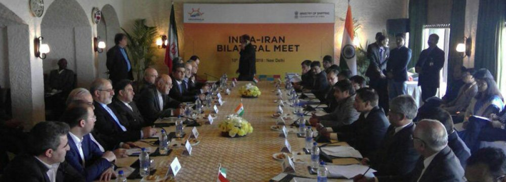 Cooperation Agreement between Iran and India